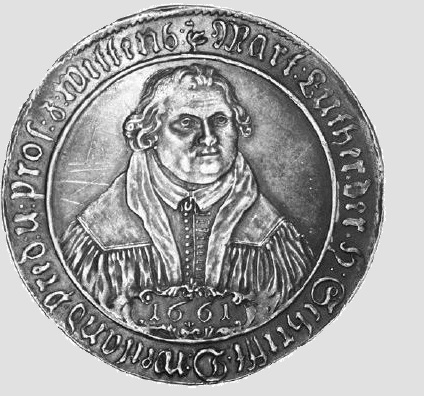 1521- Oldest Known Luther Medalion-Side A