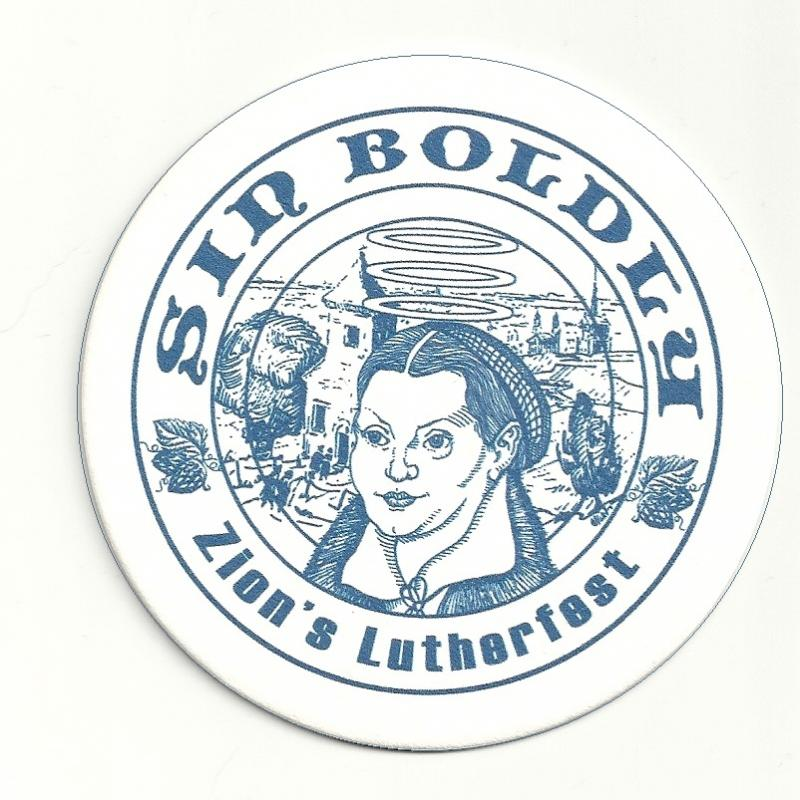 Sin Boldly Beer Coaster