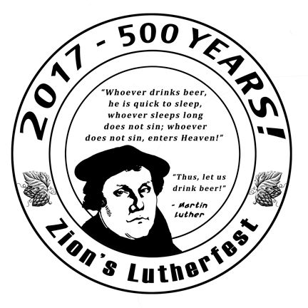 2017 Lutherfest Coaster Designed by Ray Ridenour