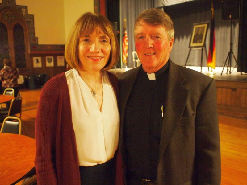 2018-11-11 Lutherfest Rev Joseph Vought and wife Debra Swenson