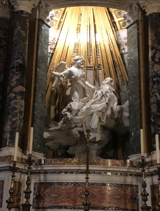 Cornaro Chapel- S. Teresa in Ecstasy by Bernini