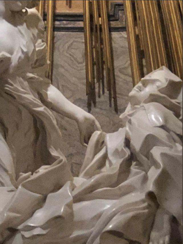 S. Teresa in Ecstasy by Bernini