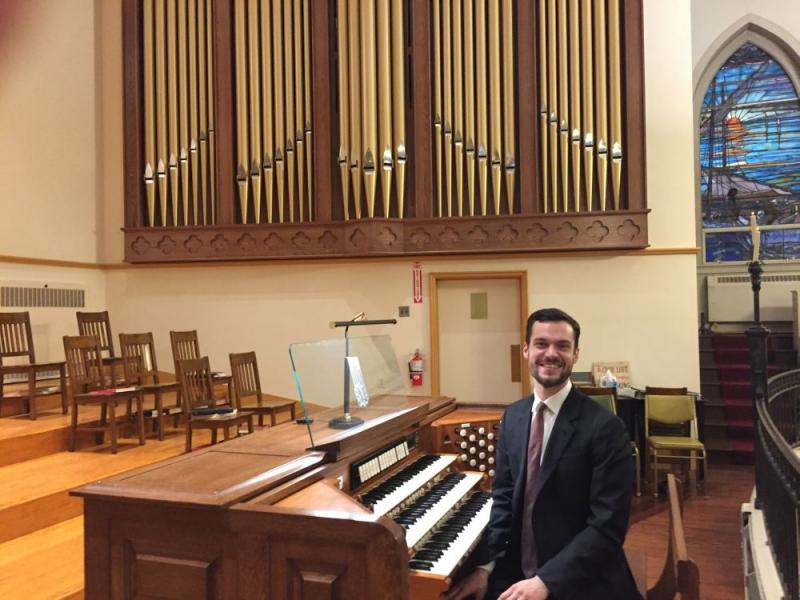 Nathan Laube Organ Recital at Zion Church Baltimore