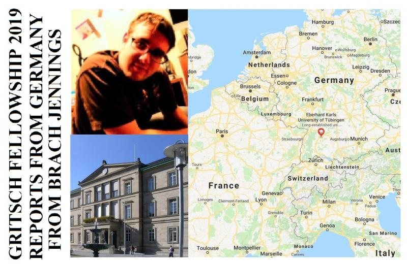 Gritsch Fellowship Winner Reports From Germany