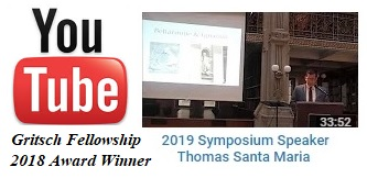 2019 Thomas Santa Maria YouTube Video Presentation