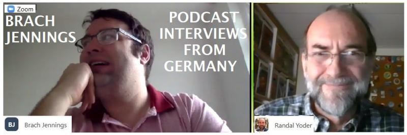 Brach Jennings Podcasts From Germany