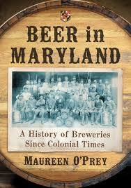 Beer In Maryland Maureen Oprey Book Cover