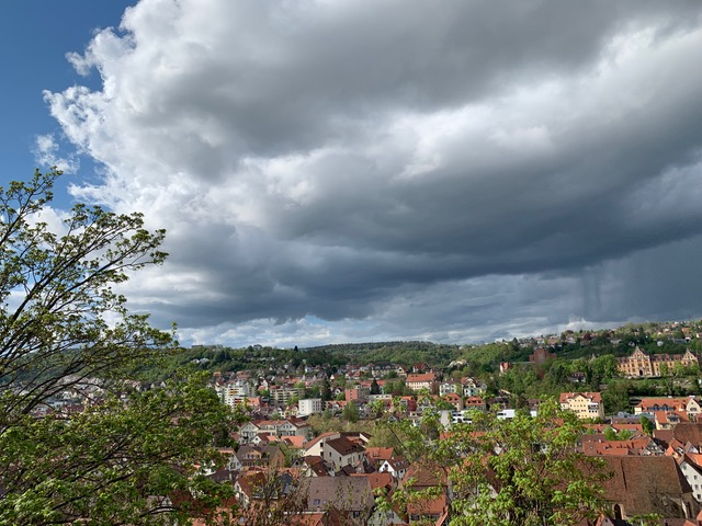 Views from near Tubingen Castle