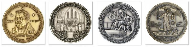 Modern Era Luther Medals