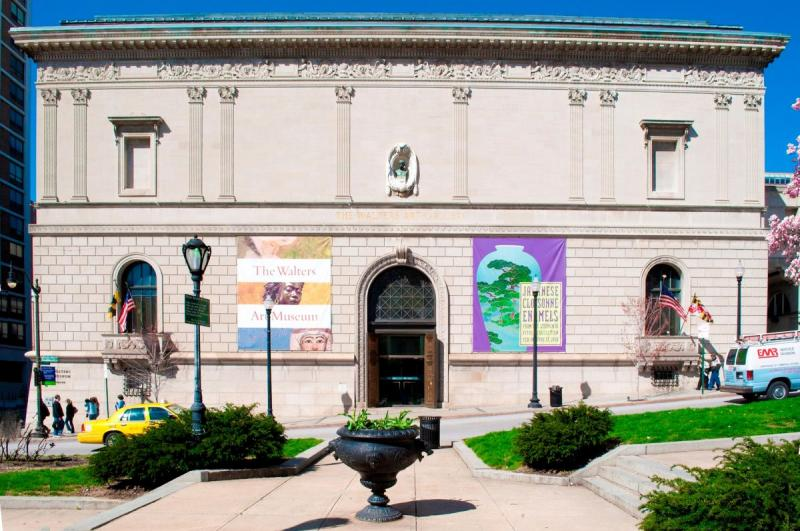 Walters Art Gallery Baltimore - Picture from Wikipedia (Modified)