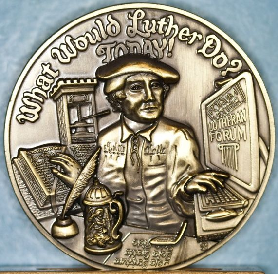 Luther Medal available through the American Lutheran Publicity Bureau